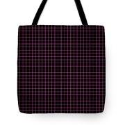 Grid Boxes In Black 30-p0171 Tote Bag