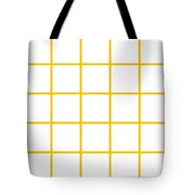 Grid Boxes In White 05-p0171 Tote Bag