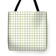 Grid Boxes In White 18-p0171 Tote Bag