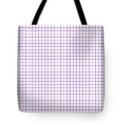 Grid Boxes In White 30-p0171 Tote Bag