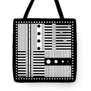 Grid Formal Attire Tote Bag