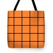 Grid In Black 05-p0171 Tote Bag