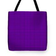 Grid In Black 30-p0171 Tote Bag