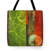 Grid Print 13 Tote Bag