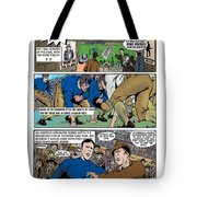 Gridiron The Beginning Page One Tote Bag