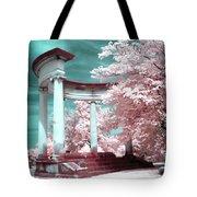 Grieving Columns Tote Bag