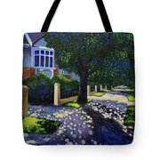 Griffith Avenue Through The Trees Tote Bag