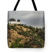 Griffith Park Observatory Tote Bag