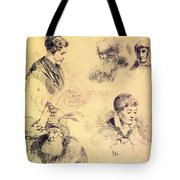 Griffonnage 1814 Tote Bag