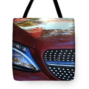 Grille  And Headlight  Tote Bag
