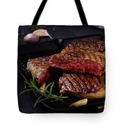 Grilled Beef Steak Tote Bag