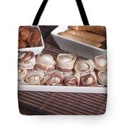 Grilled Champignon Tote Bag