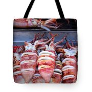 Grilled Squid For Sale Tote Bag