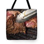 Grilling Steak Tote Bag
