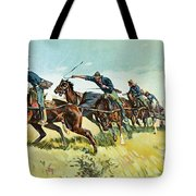 Grimes's Battery Going Up El Pozo Hill Tote Bag