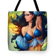 Grimm Fairy Tales - The Magic Lamp Tote Bag