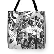 Grimm: The Six Swans Tote Bag