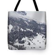 Grindelwald In Winter 3 Tote Bag