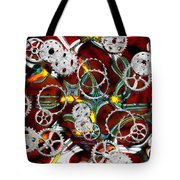 Grinding The Gears Tote Bag