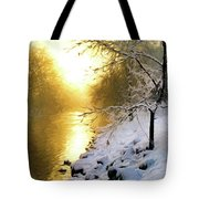 Grings Mill Fog 90-010 Tote Bag