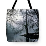 Grings Mill Fog 1043 Tote Bag