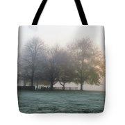 Grings Mill Fog 15-016 Tote Bag