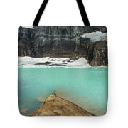 Grinnell And Salamander Glaciers Tote Bag by Jemmy Archer
