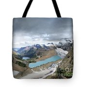 Grinnell Glacier Overlook Vista - Glacier National Park Tote Bag