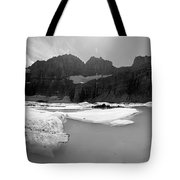 Grinnell Glacier Panorama Tote Bag