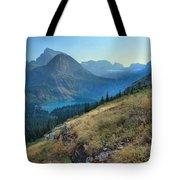 Grinnell Glacier Trail Hiker Tote Bag