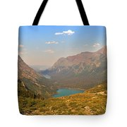 Grinnell Glacier Trail Panorama Tote Bag
