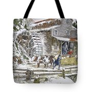 Grist Mill, 19th Century Tote Bag