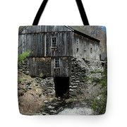 Grist Mill At Moore State Park Tote Bag