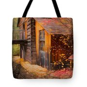 Grist Mill Tote Bag