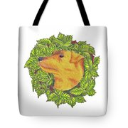 Grit The Tale Of A Hunting Terrier Tote Bag