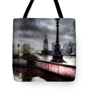 Gritty Urban London Landscape Tote Bag