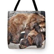 Grizzlies' Playtime 5 Tote Bag