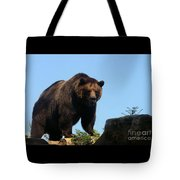 Grizzly-7747 Tote Bag