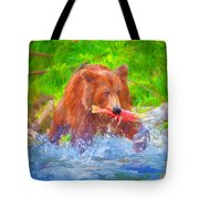 Grizzly Delights Tote Bag