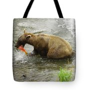 Grizzly Great Catch Tote Bag