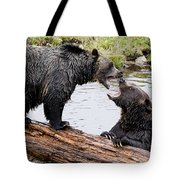 Grizzly Love Tote Bag