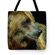Grizzly Profile Tote Bag