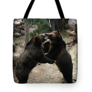Grizzly Waltz Tote Bag