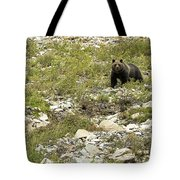 Grizzly Watching People Watching Grizzly No. 3 Tote Bag