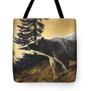 Grizzly With Cub Tote Bag