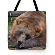 Grizzly's Naptime Tote Bag