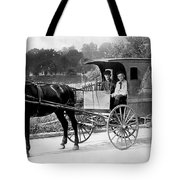 Grocery Store Buggy Tote Bag
