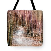 Grongarn Forest Painterly Tote Bag