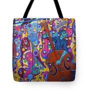 Groovy Music Tote Bag