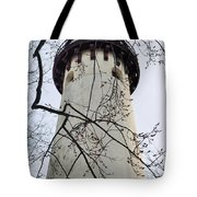 Grosse Point Lighthouse Tower Tote Bag